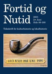 Nr. 2/2001 - Kulturstudier