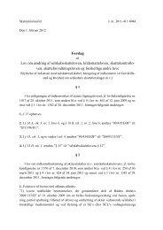 Forslag Lov om ændring af selskabsskatteloven ... - RegnskabsMail