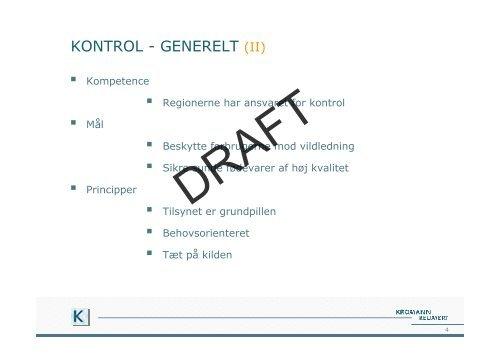 Sådan kontrolleres og sanktioneres ernærings - Kromann Reumert