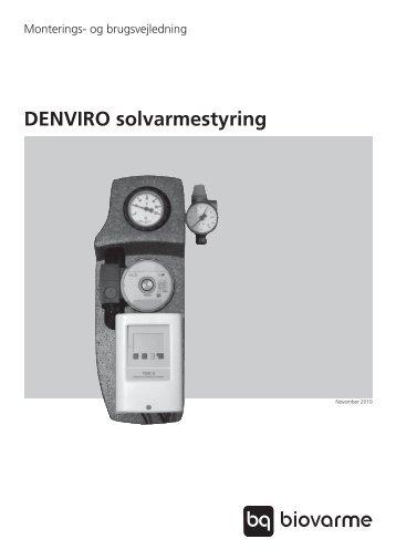 DENVIRO solvarmestyring - Venton