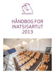 HÅNDBOG FOR INATSISARTUT 2013 - DA
