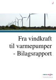 Fra vindkraft til varmepumper - Bilagsrapport - Energinet.dk