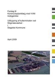 Forslag til Kommuneplantillæg med VVM- redegørelse Udbygning af ...