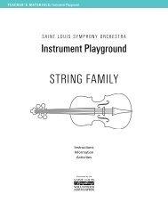 STRING FAMILY - St. Louis Symphony