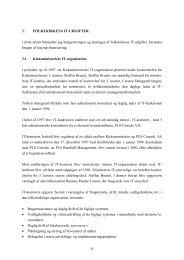 Kapitel 3 - Folkekirkens it-udgifter - Kirkeministeriet