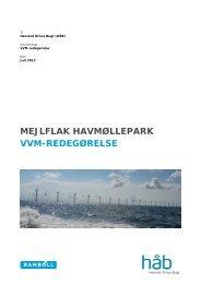 VVM-redegørelse - Vindmøllelaug Aarhus Bugt
