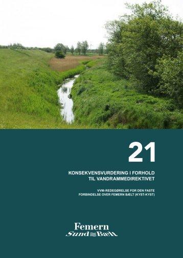 21 Konsekvensvurdering i forhold til vandrammedirektivet