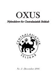 December 2006 - Centralasiatisk Selskab