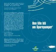 Den lille blå om Sparepumper - Dansk Energi