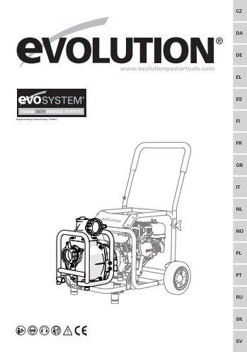 Bomba De Agua (DWP1000) - Evolution Power Tools Ltd.