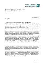 2011 Notat vedr. seismik og havpattedyr - Grønlands Naturinstitut