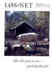 ikke alle grise er ens — glædelig øko-jul! - LøS