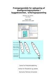 Fremgangsmåde for opbygning af konfigureringssystemer i ...