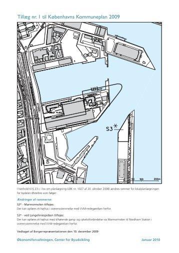 Miljøredegørelse for Marmormolen og spidsen af Langelinie