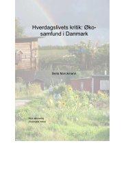 Hverdagslivets kritik – Økosamfund i Danmark
