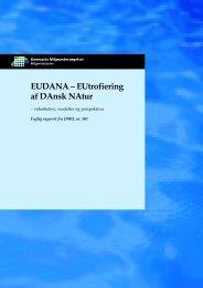 EUDANA - DCE - Nationalt Center for Miljø og Energi