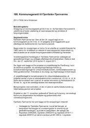 Kommunegaranti til Fjerritslev Fjernvarme - Jammerbugt Kommune