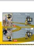 Leica Rugby 810, 820, 830 og 840 De mest solide konstruktionslasere - Page 5