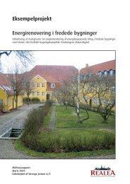 Energirenovering i fredede bygninger ... - Realdania Byg