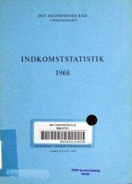 Dansk økonomi, december 1968 - De Økonomiske Råd