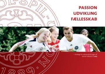Passion Udvikling Fællesskab - DBU