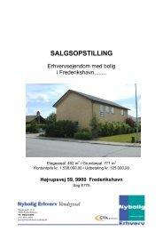 SALGSOPSTILLING