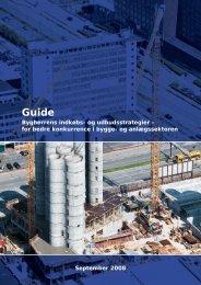 Bygherrens indkøbs- og udbudsstrategier – for bedre konkurrence i ...