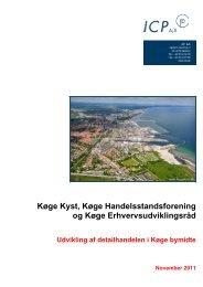 Hent detailhandelsanalysen her - Køge Kyst