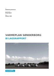 tilhørende bilagsrapport - Sønderborg Kommune