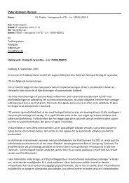 høring vedr forslag til ny postlov - 6 september 2010 - ITD