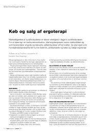 [pdf] Køb og salg af ergoterapi - Ergoterapeutforeningen