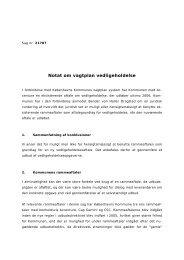 Bilag D Notat om vagtplan vedligeholdelse - Københavns Kommune