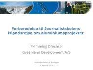 Flemming Drechsel Greenland Development A/S
