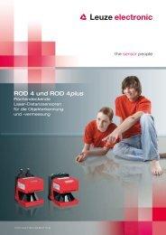 ROD 4 und ROD 4plus - Leuze electronic