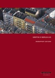 Årsrapport 2007 - Berlin IV A/S