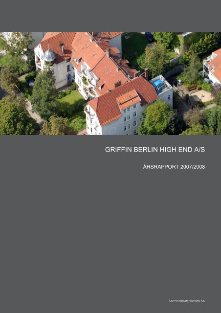 GRIFFIN BERLIN HIGH END A/S