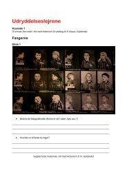 Udryddelseslejrene - Hit med Historien - Gyldendal