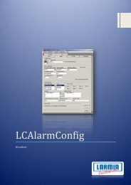 LarmServer - Användarhandbok (pdf) - Larmia Control AB