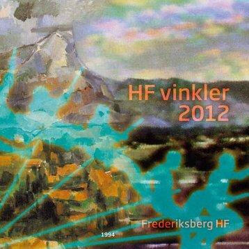 HF vinkler 2012 - Frederiksberg HF Kursus