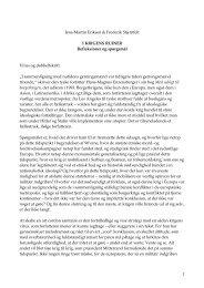 Læs det afsluttende essay I krigens ruiner - Jens-Martin Eriksen