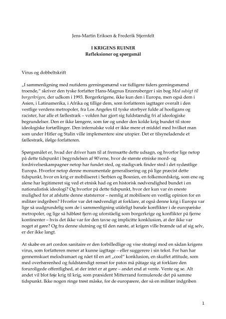 læs et essay