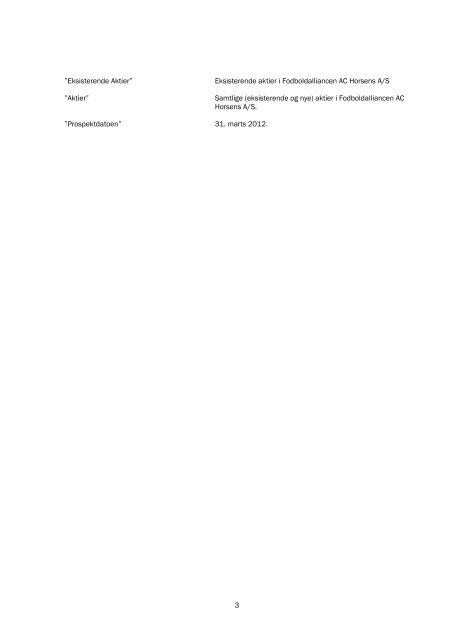 Prospekt - AC Horsens