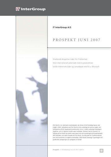 8478 IT InterGroup PROSPEKT 29.8.2:vers. 29.8.2 - IT InterGroup A/S