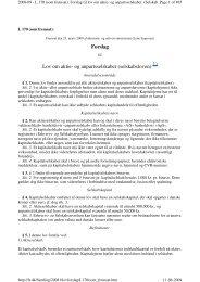 Lovforslag som fremsat - Kromann Reumert