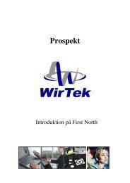 Prospekt - Wirtek