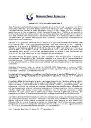 Læs Prospektet - PDF - Greentech Energy Systems A/S