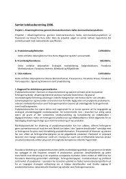 Samlet ledelsesberetning 2008. - Danske Prydplanter
