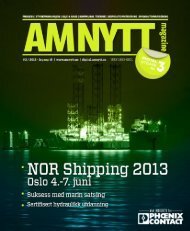 Amnytt utgave 3 – 2013 - AMNYTT - Amnytt.no