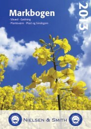 Planteværn og Markjournal 2013 - NSCORN