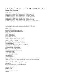 Rudkøbing Byfogeds Arkiv Skifteprotokol Bind I-V 1624-1797 + ...